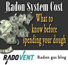 Radon Mitigation Cost Estimates by Radon Mitigation Service