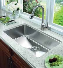 Hahn Kitchen Sinks Kraus  Inch Farmhouse Single Bowl Stainless - Double sink for kitchen