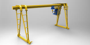 gantry crane 3d cgtrader
