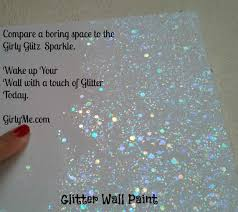 paint for walls glitter wall paint new girly glitz in crystal clear top coat
