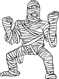 mummy coloring pages source coloringbookfuncom report halloween