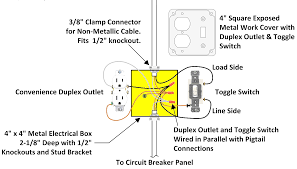 wiring for a single loft or garage light picturesque outlet to