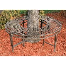 amazon com design toscano gothic roundabout steel garden bench