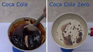 comparatif cuisine am ag coke vs coke zero shows disturbing amount of sugar daily mail