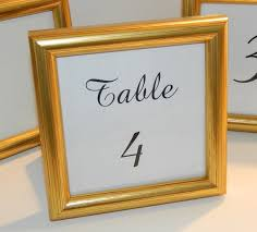 photo frame party favors special small gold frame for wedding table numbers party favors