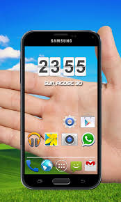 clock themes for android mobile transparent 3d theme free apk android app android freeware