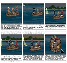 the open boat storyboard by ahtnamas