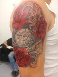 30 incredible clock tattoo designs