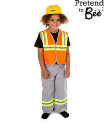 Construction Worker Costume Construction Worker Builder Child U0027s Kids Role Play Dress Up