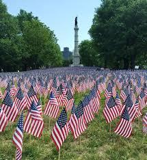 States Flags Memorial Day Flag Garden On Boston Common Chen Pr