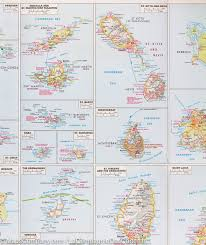 Caribbean Maps by