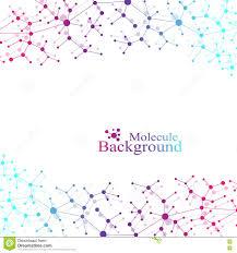 Nervous System Concept Map Structure Molecule Atom Dna And Communication Background Concept