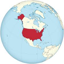united states globe map file united states on the globe america centered svg