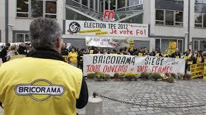 siege social bricorama travail dominical les salariés s opposent aux syndicats