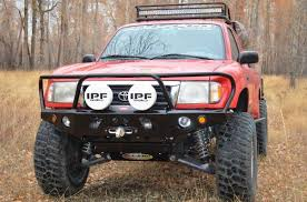 1999 tacoma light bar apex front bumper all pro off road