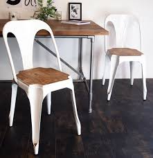 White Bistro Chair White Metal Bistro Chair House Junkie