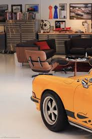 porsche garage porsche and garage centric living room pfanaticle