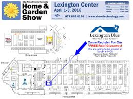 home garden show lexington ky april 1 3 2016 win a free roof