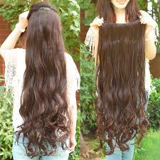 cheap clip in hair extensions free shipping 35inch one 5 in hair