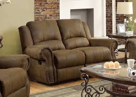 Microfiber Reclining Sofa Harvest Reclining Sofa Loveseat And Chair Set Sam S Club Regarding