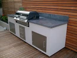 cuisine exterieure beton plan cuisine d t fashion designs de travail exterieur en beton