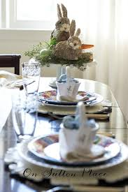 Easter Decorations For Tables by Easter Table Setting Ideas On Sutton Place