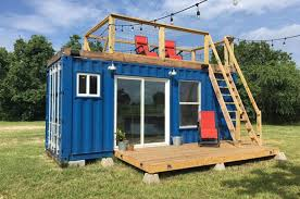 tiny container homes this quirky shipping container home is cozy and affordable