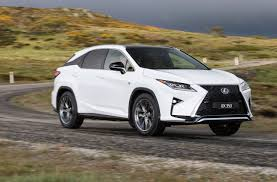 lexus jeep 2015 2016 lexus rx 450h f sport review video performancedrive