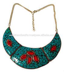 beads necklace india images Mosaic beads necklace jewelry fashion costume beaded handmade jpg