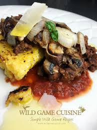 cuisine simple 67 this elk sauce and polenta recipe is just one more that is so