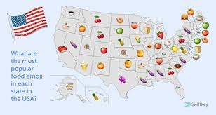 top 10 food emoji used in the united states