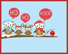 owl christmas christmas owls this would be an adorable bulletin board next year