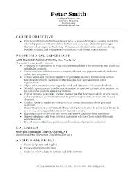 resume objective statements purpose statement resume