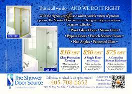 shower door source
