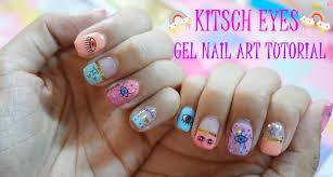 etude house enamelting gel polish kitsch eyes gel nail art youtube