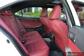 lexus is350 f sport kw 2015 lexus is350 f sport rear seats forcegt com