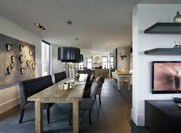 Basement Living Room Living Room Rustic Dining Room And Contemporary Living Room