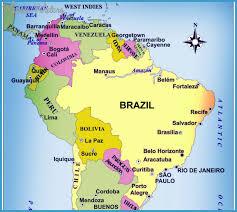 map of brazil brazil map travelsfinders