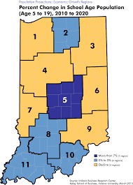 County Map Of Indiana Population Projection Maps Stats Indiana