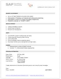 Sap Fico Sample Resume 3 Years Experience by Sap Pi Resume Samples Sap Fico Resume Sample Resume Cv Cover Sap