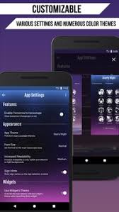 zodiac themes for android daily horoscope apk download free lifestyle app for android
