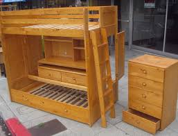 Trundle Bunk BedsTriple Trundle Bunk Beds Ava Triple Bunk Bed - Trundle bunk bed with desk