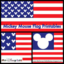 Printable Flags My Disney Life Free Mickey Flag Printable 3 Different Designs