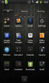 lenovo launcher themes download theme iphone black available for go launcher ex talkandroid com