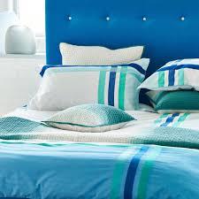 designers guild montgomery check bedding in azure at bedeck 1951