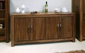baumhaus mayan walnut large low sideboard amazon co uk kitchen