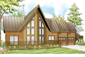 A Frame Cabin Floor Plans A Frame House Plans Boulder Creek 30 814 Associated Designs
