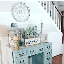 small foyer table ls i love the idea repurposing a good piece of furniture check out