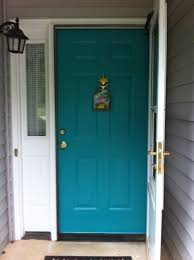 Front Door Colors For Brick House by Incredible Front Door Colors For Brick House Turquoise Front Door
