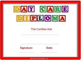 preschool certificates preschool certificates